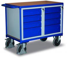Cordes Werkstattwagen, Tischwagen mit Wanne